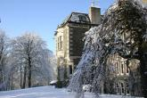 Blairmore House in the snow