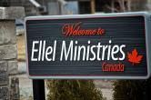 The welcome sign at Ellel Canada Ontario